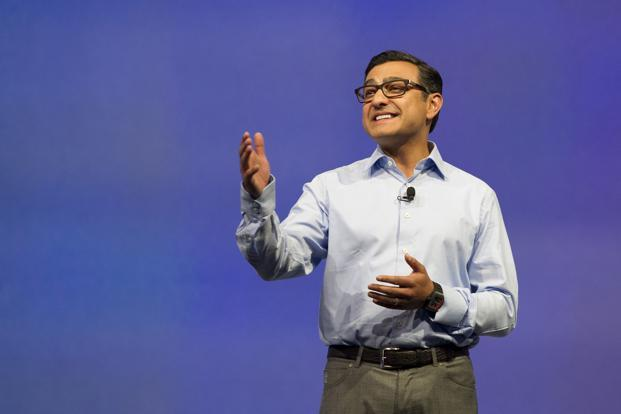 Vivek Gundotra, who was serving as the Senior Vice President (Social) at Google, announced his departure in a post on Google Plus, a social network that was created about 3 years ago. Photo: Bloomberg