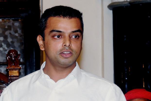 Congress MP from Mumbai South, Milind Deora.