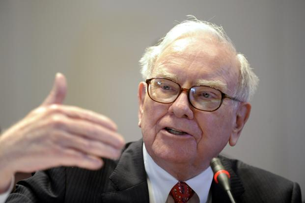 Warren Buffett, chairman and chief executive officer of Berkshire Hathaway Inc. Photo: Bloomberg