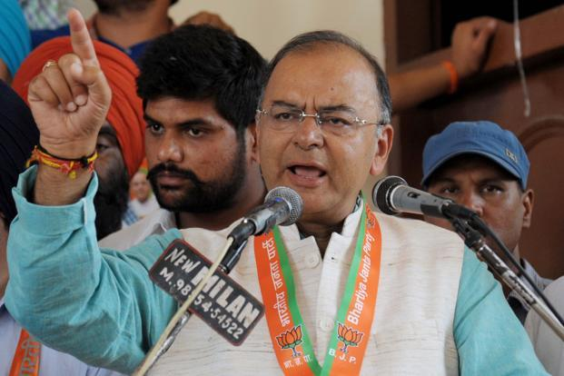 Arun Jaitley's chances of getting the finance portfolio haven't been diminished because of his election loss and incoming leader Narendra Modi is keen to nominate him, according to the leaders. Photo: AFP