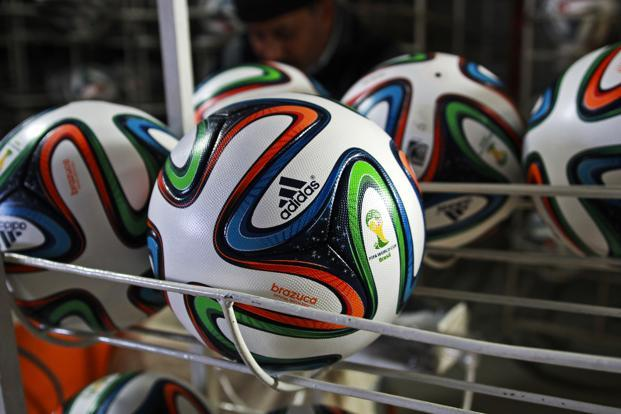 Adidas has supplied the World Cup ball since 1970. Photo: Bloomberg