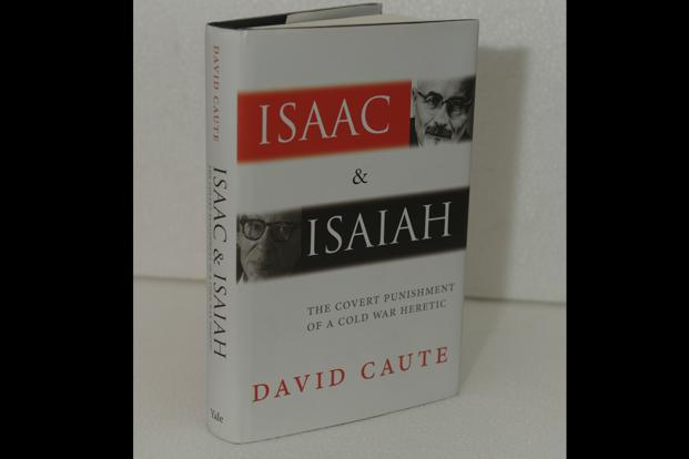 The clash of ideas of Isaiah Berlin and Isaac Deutscher is the central theme of this elegant book written by David Caute.