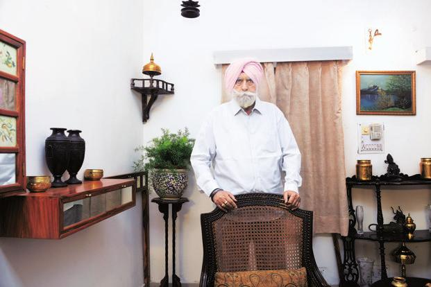 KPS Gill, former Director General of Police, Punjab. Photo: Ramesh Pathania/Mint