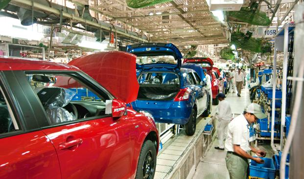 Maruti Suzuki the country's largest car maker by sales, reported a 16% increase in its domestic sales in May from a year earlier. Photo: Ramesh Pathania/Mint