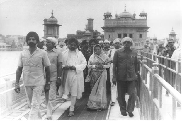 Image result for operation blue star and indira gandhi