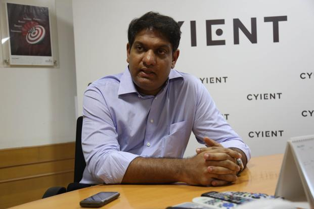Cyient is willing to spend up to $200 million to buy these four companies, said chief executive officer and managing director Krishna Bodanapu. The Hyderabad-based firm had cash reserves of Rs726 crore at the end of last fiscal. Photo: Kumar/Mint