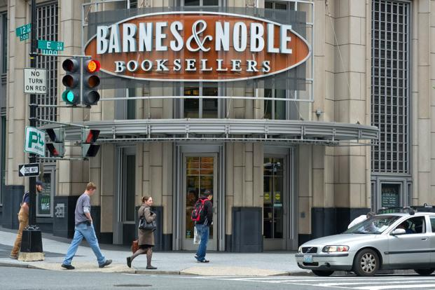 Barnes & Noble, a bookstore chain with almost 700 stores, has been scaling back its investments in the money-losing Nook unit after earlier tablet models flopped with consumers. Photo: AFP