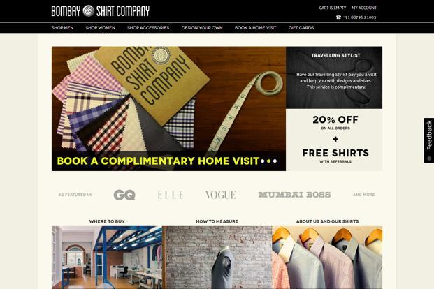 BSC sells made-to-measure shirts online and is now looking at expanding to brick-and-mortar retail.