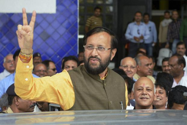 Prakash Javadekar also said that the ministry will initiate an online process for 'forest clearance'. Photo: PTI
