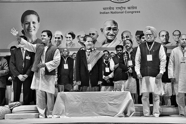 photo essay prime expressions livemint manmohan singh sonia gandhi and rahul gandhi at a congress meeting on 17