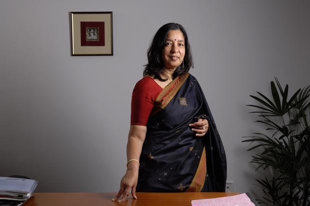 Shikha Sharma is formulating the Axis Bank's 'Vision 2020' document which, among other things, lists reaching out to 5% of India's bankable population. Photo: Abhijit Bhatlekar/ Mint