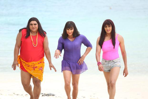 What a drag: Ram Kapoor, Saif Ali Khan and Riteish Deshmukh vamp it up