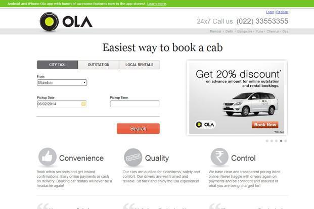 Olacabs In Talks To Raise 50 Million Livemint