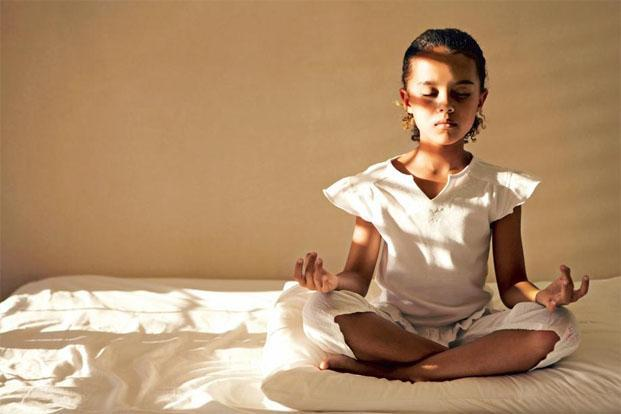 Meditation helps children focus. Photo: Thinkstock