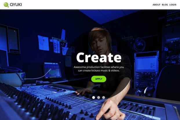Qyuki.com, a music-focused website founded by A.R. Rahman and Shekhar Kapur, provides a social networking platform to collaborate and create media.