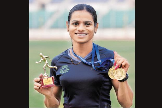 Dutee Chand, who hails from Odisha, is one of India's most promising sprinters. Photo: The Hindu