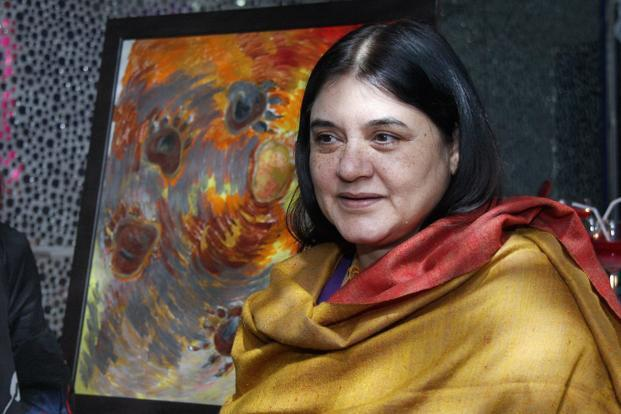 Union minister Maneka Gandhi clarified that government has no proposal to set up the State Adoption Resource Authority under the Central Adoption Authority in each state of the country. Photo: HT