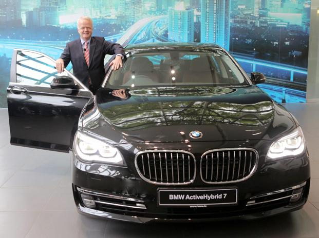 Bmw Launches Activehybrid 7 Sedan In India Livemint