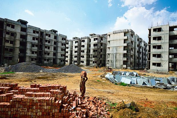 As per CBRE India, housing shortage for the economically weaker sections is about 11 million homes. Photo: Pradeep Gaur/Mint