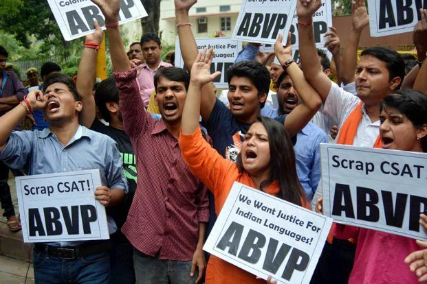 UPSC row: ABVP says fight not against English, but poor translation