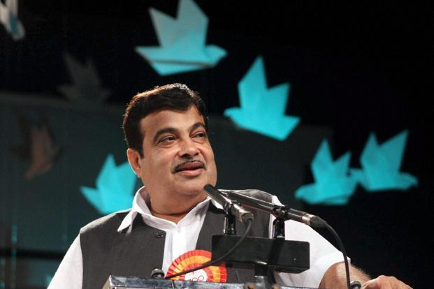 Union rural development minister Nitin Gadkari stated that the projects would be implemented at an outlay of <span class='WebRupee'>Rs.</span>100 crore. Photo: PTI