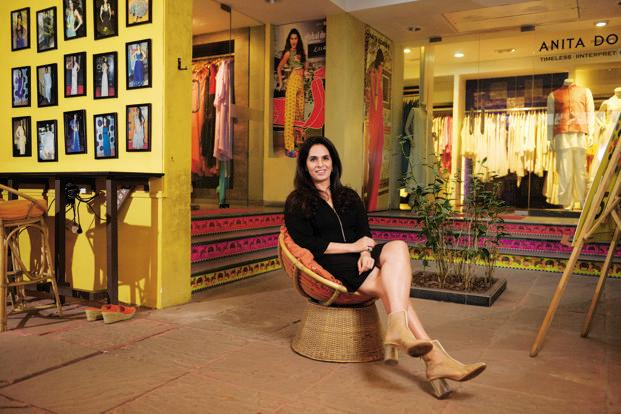 Fashion Designer Anita Dongre Started From Two Sewing Machines In The  Balcony Of Her House In