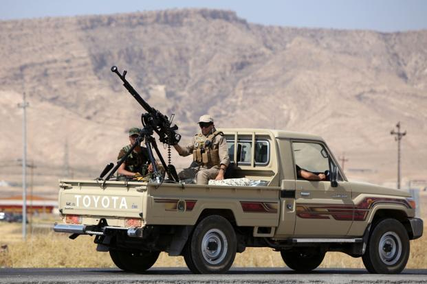 Kurdish Forces Oust Militants From Iraq Dam With Us Air