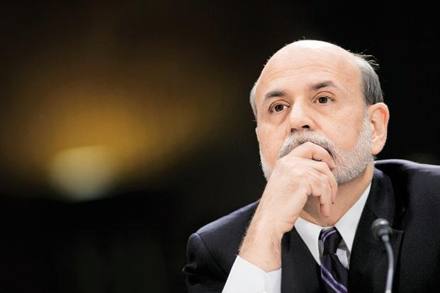 Former US Federal Reserve chairman Ben Bernanke. Photo: Bloomberg