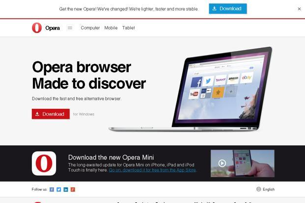 Opera said it now sees full-year Ebitda in a range of $117 million to ...