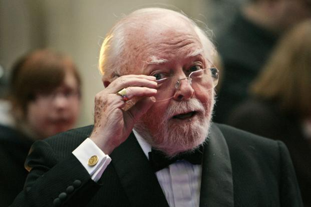 British actor and director Richard Attenborough. Photo: AP