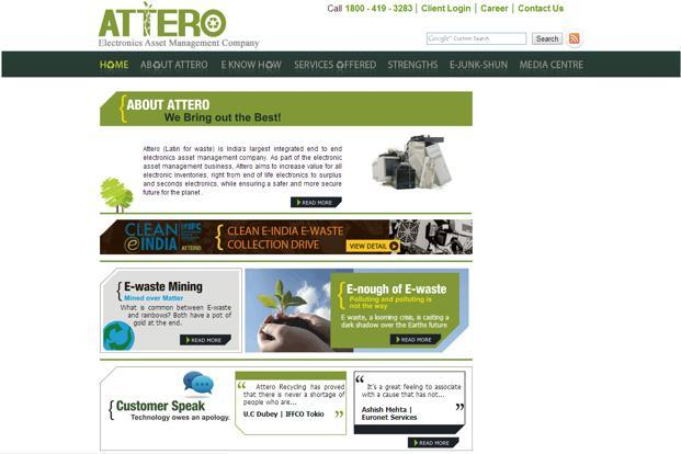 Attero had raised $6.3 million from Kalaari Capital and Draper Fisher Jurvetson, a California-based venture capital fund, in 2008 and $8.3 million in its second round in 2010.