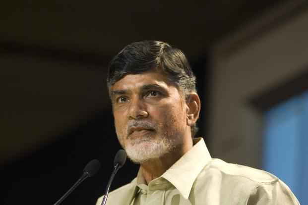 Chandrababu Naidu said that land for the capital would be acquired through a pooling system to be worked out by a cabinet sub-committee. Photo: Mint