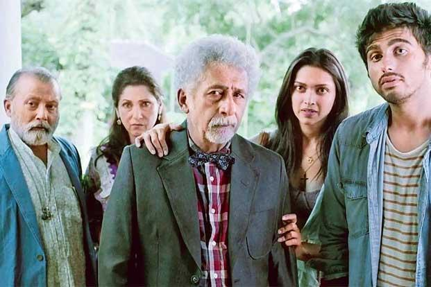 A still from 'Finding Fanny'. The despair of its maladjusted characters balanced neatly with their laugh-inducing eccentricities.
