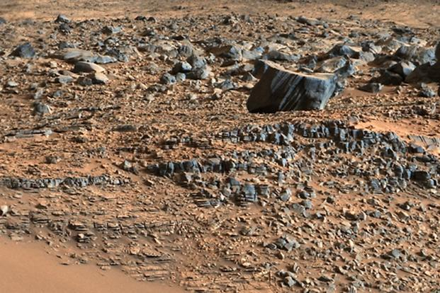 Nasa Mars rover Curiosity reaches base of target mountain ...