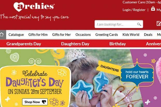 Archies shares soar over 12 on revamping e commerce platform livemint archies said it has revamped its e commerce platform archiesonline bookmarktalkfo Choice Image
