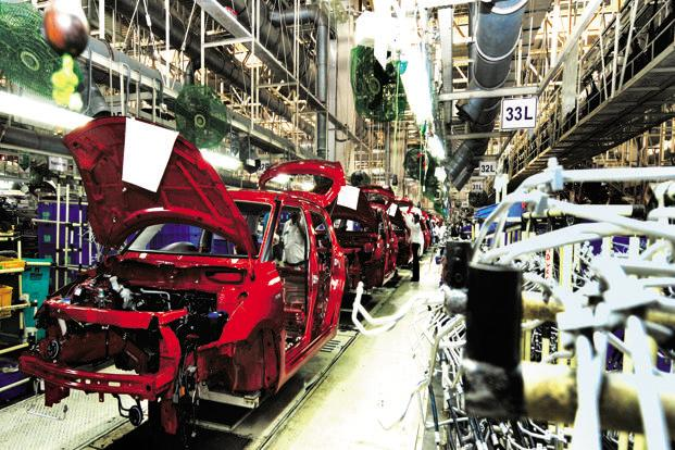 A file photo of a Maruti factory. Prior to this assignment, Kalsi was heading the company's parts, accessories and outbound logistics divisions. Photo: Ramesh Pathania/Mint