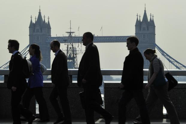 The survey found that almost two thirds of jobseekers were willing to move abroad to work, within Britain only 44% of people want to move overseas for work. Photo: Reuters