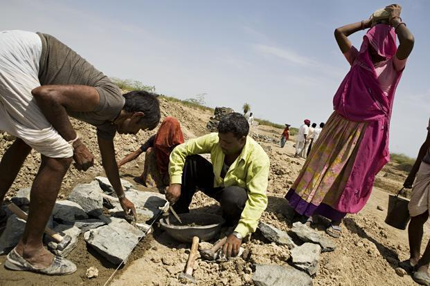 MNREGA is primarily an employment guarantee programme with an equally important objective of creating durable, productive assets for the local communities. Photo: Mint