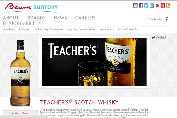 The company will also look at adding more variants to its existing portfolio of Teacher's whisky as part of its global emerging markets strategy.