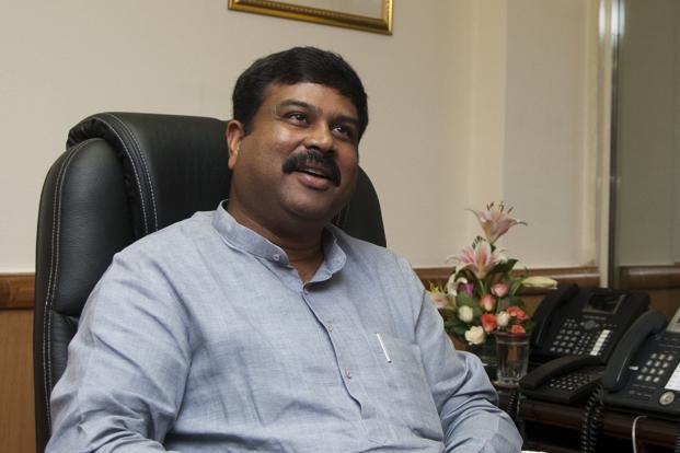 Oil and gas minister Dharmendra Pradhan. Photo: Sneha Srivastava/Mint