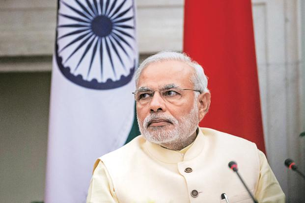 Prime Minister Narendra Modi. The only threat that has immediacy for India is geostrategic competition, ranked at No. 4. Photo: Bloomberg