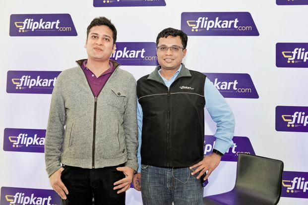 Binny (left) and Sachin Bansal have become the poster boys of India's e-commerce business and the envy of the larger corporate world. Photo: Hemant Mishra/Mint