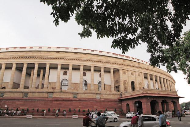 A file photo of the Parliament House. Photo: HT
