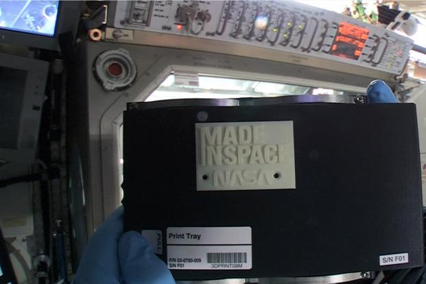 Nasa creates first 3d printed object in space livemint for Nasa additive manufacturing