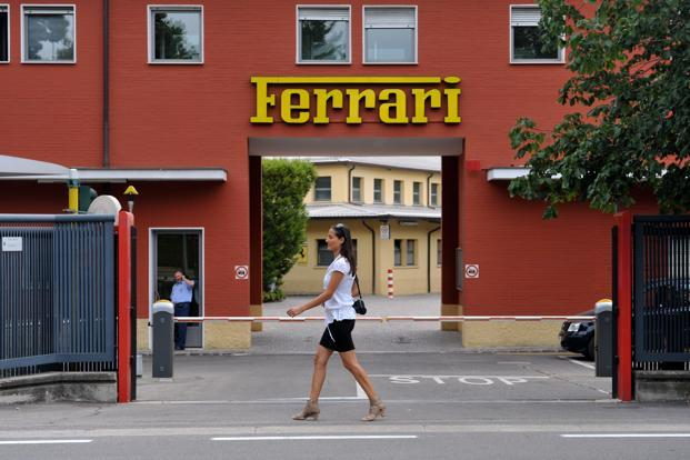 Ferrari Fleeing Italy Prompts Angst About Nation Losing