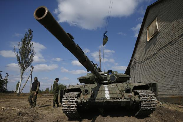 The West, sadly, has provided embattled Ukraine with only a façade of support. Photo: Reuters
