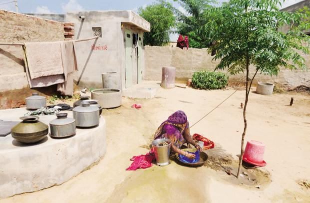 Only a small number of the 300 families in Badaun were using toilets before the rape story spread across India. Photo: Ramesh Pathania/Mint