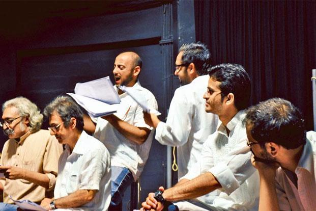 A dramatized reading of Saadat Hasan Manto's short stories, directed by Kirtana Kumar. Photo: Anmol Vellani