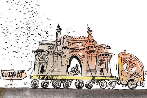 Narendra Modi and the Gateway of India