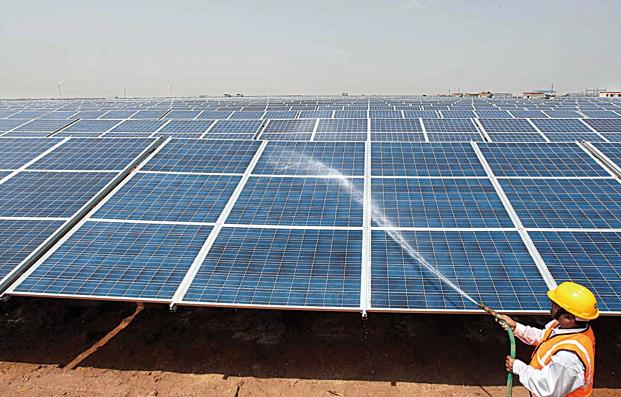 India Builds Solar Plants Atop Canals To Save Land Water
